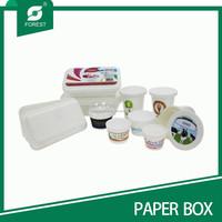 CUSTOM PLASTIC ICECREAM/DAIRY PRODUCTS PACKAGING BOX