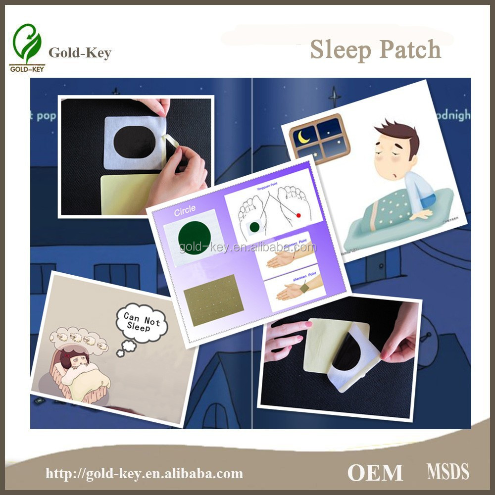 Chinese Medicine Insomnia Patch for Sleepless