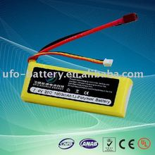 7.4V 1800mAh 20C Lipo ge power battery for RC toys