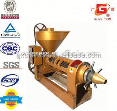 Economical chia seed oil cold and hot screw press auto oil extraction machinery