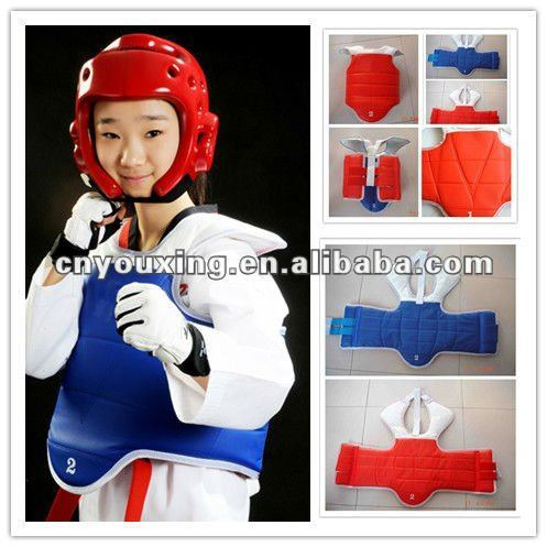 Reversibe TKD Body Protector/ Taekwondo Chest Guard
