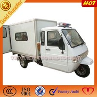 new three wheel motorcycle /cargo scooter motor with cabin enclosed tricycle /powerful 3 wheel cargo tricycle on sale