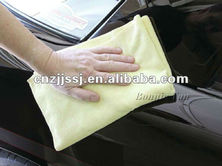 Different Color Microfiber car cleaning cloth
