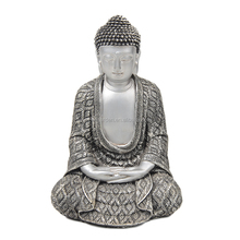 A056 Silver buddha statues in buddhism gifts home decoration