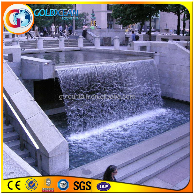 Artificial Waterfalls Outdoor Water Wall Fountain Suzhou
