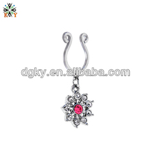 2014 Hot and Fashionable Diamond Nipple Ring Piercing Jewelry