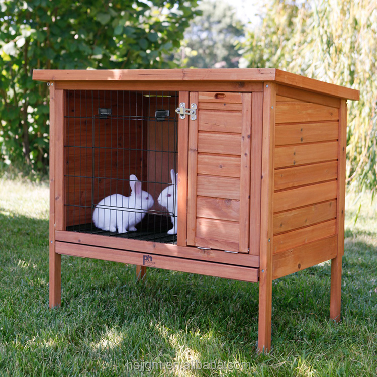 outdoor wooden rabbit play house
