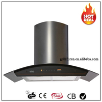 Kitchen Appliance Chimney Aluminum Filters Island Range hood