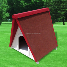 Pet house house wooden dog cage A-frame waterproof dog Shelter Comfortable Classic style Environmental