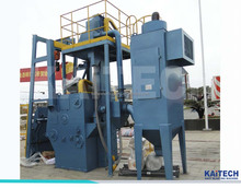 QR3210 electic automatical loading and unload workpiece shot blasting machine