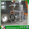 Automatic water spray type canning charcoal retort
