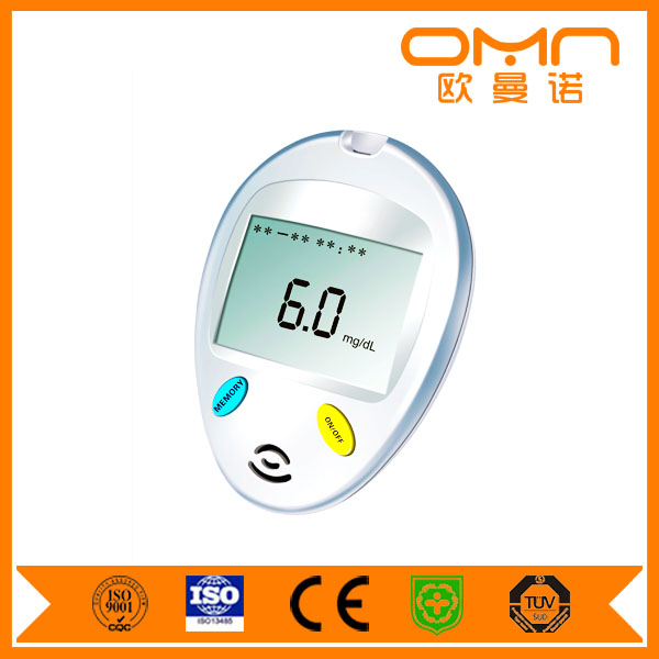 Mini Easy One Touch Select Glucometer Blood Test Equipment Smart Phone Glucometer with Rite Check Glucometer Strips