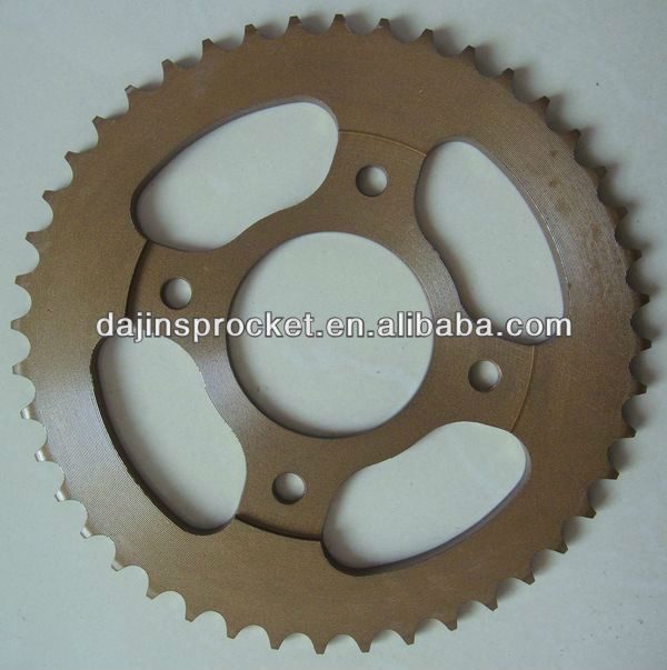 dajin motorcycle sprocket for AX100 CG125