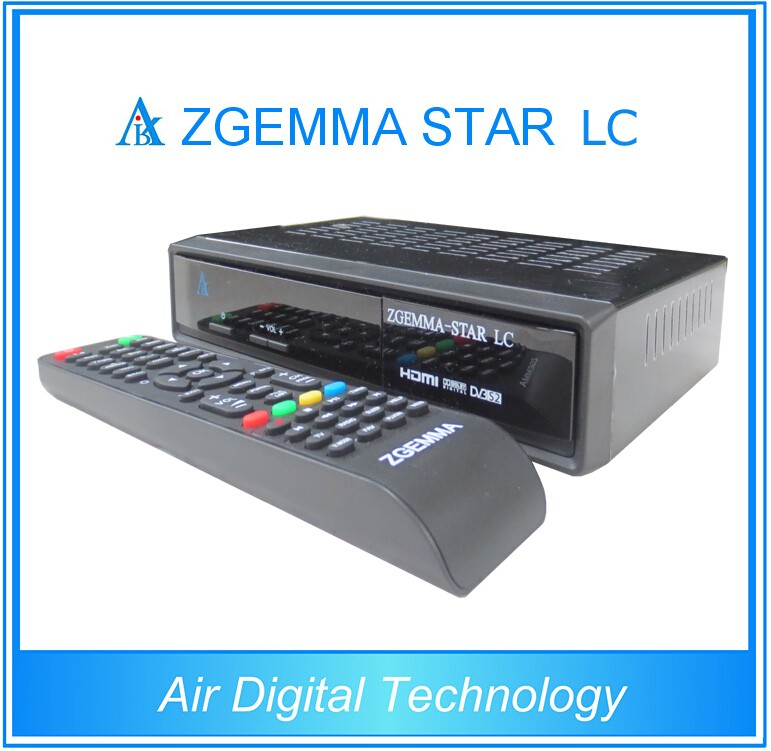 Air Digital Zgemma-star LC IPTV low cost DVB-C satellite receiver software download