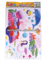 Seabed Fish Mermaid Decorative wall sticker