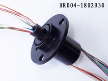 rotary electrical interface, slip ring connector, electric swivel slip ring, electrical rotary joint. model:HR004-1802B30