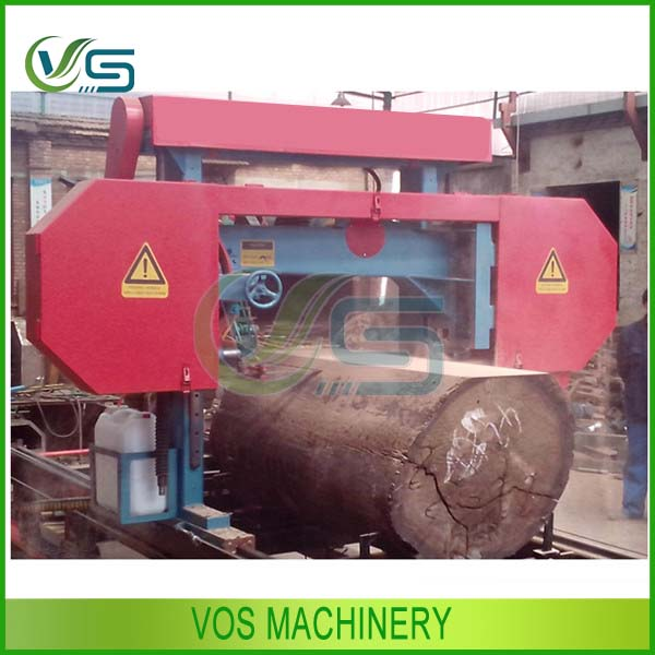 2014 hot selling motor driven band saw machine for cutting large logs