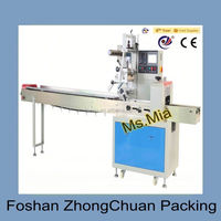 Reciprocating pillow packaging machines for moon-cakes / bread / sandwich / pies