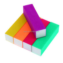 Magic Fluorescent Color NAIL BUFFER BLOCK FILE 4 Way Shine Nail Buffing Sanding Block File