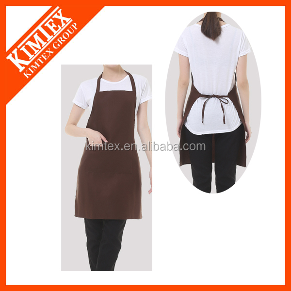 Different types design aprons of the test of the cooking