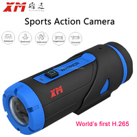 Vehicle camera for cycling full HD 1080p 6 hours loop recording sports action camera