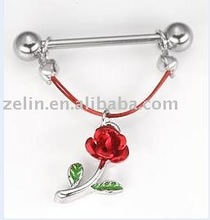 Fun and fantastic unisex sexy nipple piercing,316L jewelry,body jewelry