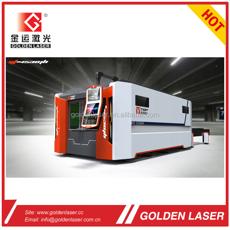 Metal Fibre Laser Cutting Machine/2KW Fiber Laser