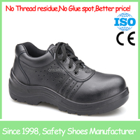 leather steel toe cap Cheap work shoes for work SF6872