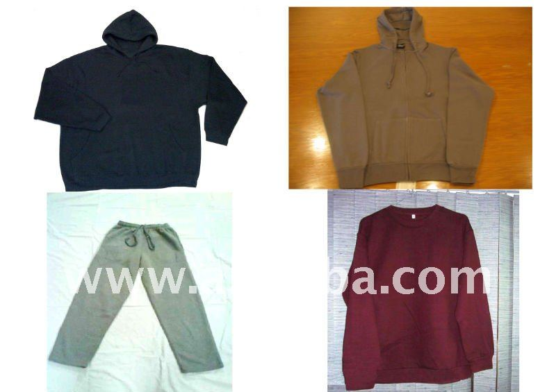 Men's Pullover + Zipper + Sweat Shirt + Sweat Paint.