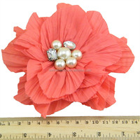 New style artificial flower hair clip FBW-1006