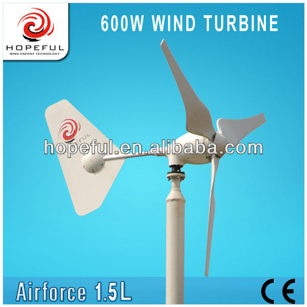 600w frp wind turbine blades green energy product