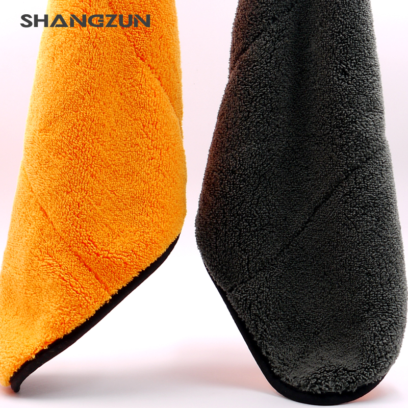 Wholesale double sides coral fleece microfiber coral fleece towels fancy Microfiber towel