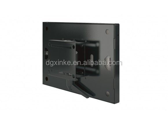 China supplier metal stamping carbon steel 0.8mm electronic PC hardware black plated display housing