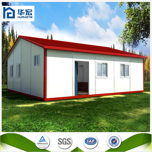 2015 New design light steel prefab flat house plans