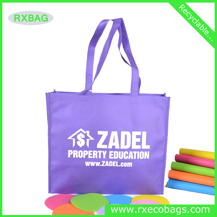China supplier wholesale recycled cheap silk screan printing tote promotion beach pp non-woven wenzhou reusable shopping bag