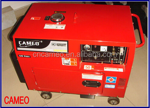 Small Portable Diesel Generator 5kw Hot for Sale