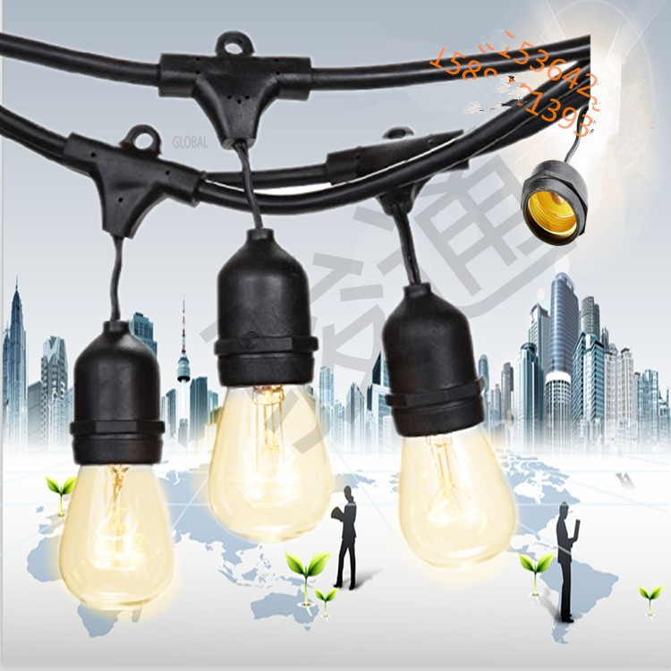 Vintage Edition Outdoor Commercial String Lights