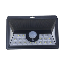 MFYH24 Outdoor Solar Lights 24 LED Motion Sensor Security Outside Wall Lights with Bright/ Dim Mode for Garden