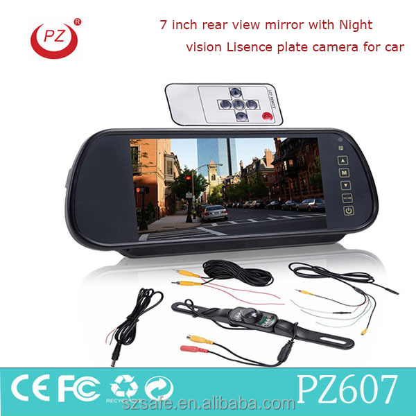 car rearview mirror monitor, car rear view system