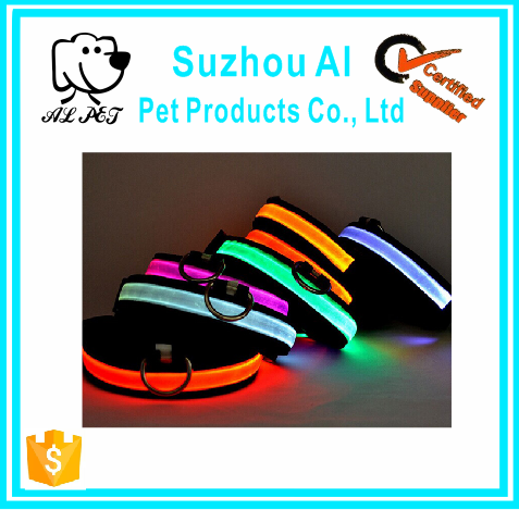 LED Light for Pets Avaliable Glowing Flashing Luminous Dog Collar