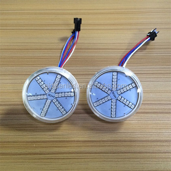 12V 24V 60V Pre Programmed RGB Auto Led Bulbs For Amusement Park