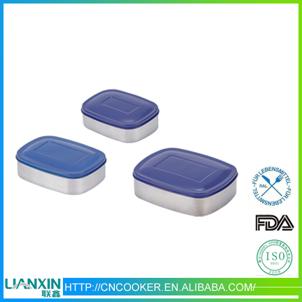 China wholesale Boxes & Bins,stainless steel color lunch box