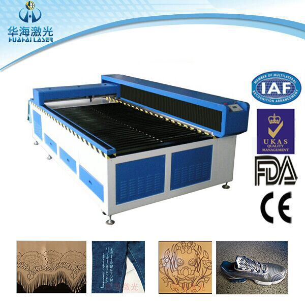 Polished edges low cost plastic laser cutting machine for plastic sheet/film