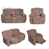 high quality Home Furniture contemporary recliner functional grey leather Air recliner motion sofa