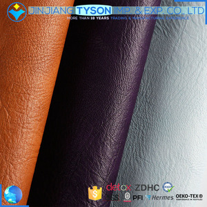 Two-tone 0.9mm chunky knitted pvc man-made soft leather for shoes