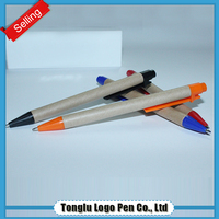 Ballpoint brands 500mw green laser pointer promotional pen with pull out paper