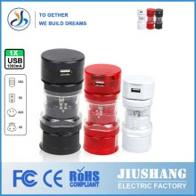 DGJIUSHANG manufacturing Through the CE FCC ROHS certification Approval Top Selling Special International Travel Adaptor