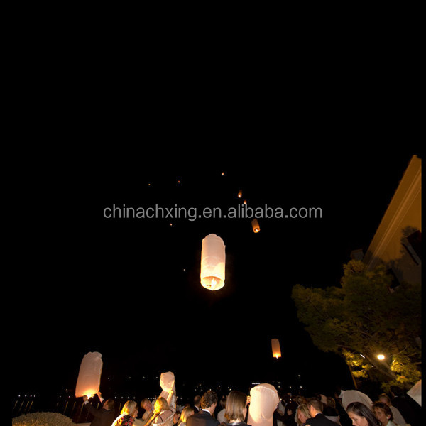 Biodegradable luminary sky flying lantern for sale