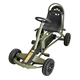 motor racing style kids childrens pedal go kart with rubber wheels