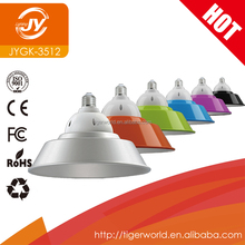 Factory Price CE RoHS Quality Colorful Cover E27 E40 35W 50W LED Low High Bay Light For Wholesales